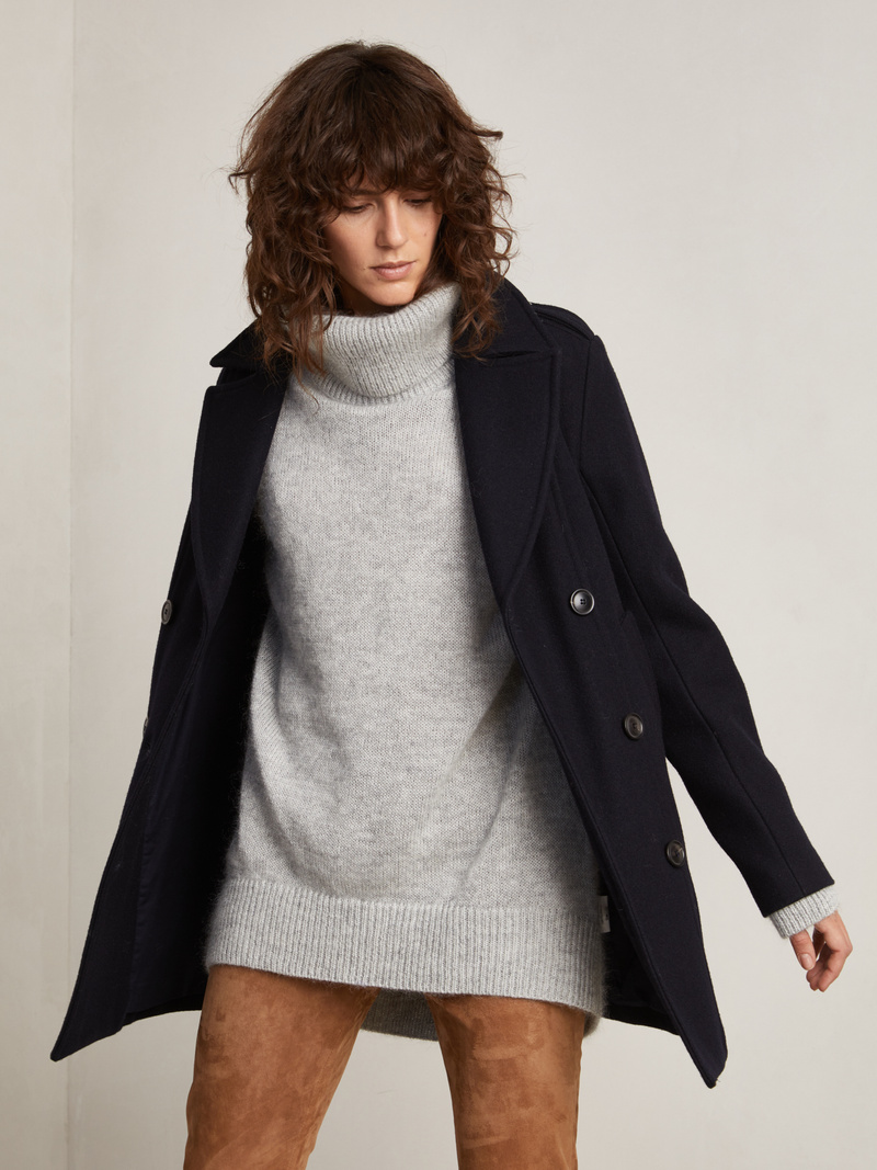 Mick Wool Peacoat