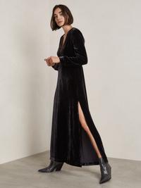 Alice Velvet Long Dress
