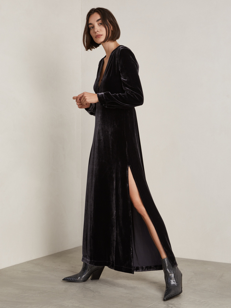 Alice Velvet Long Dress