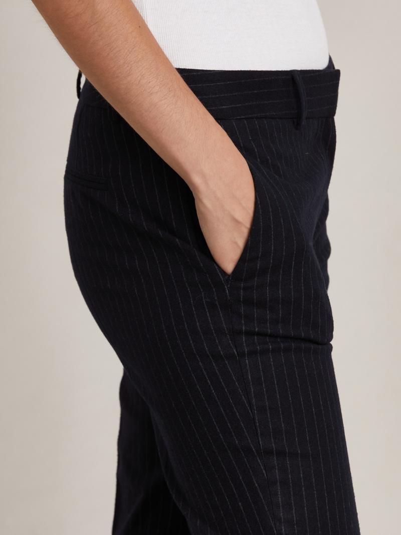 Laurent Pinstripe Pants