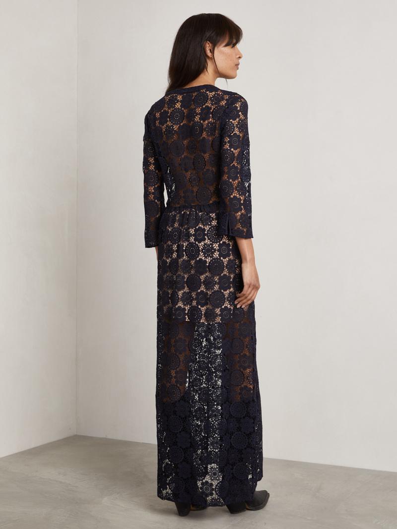 Deen Long Lace Dress