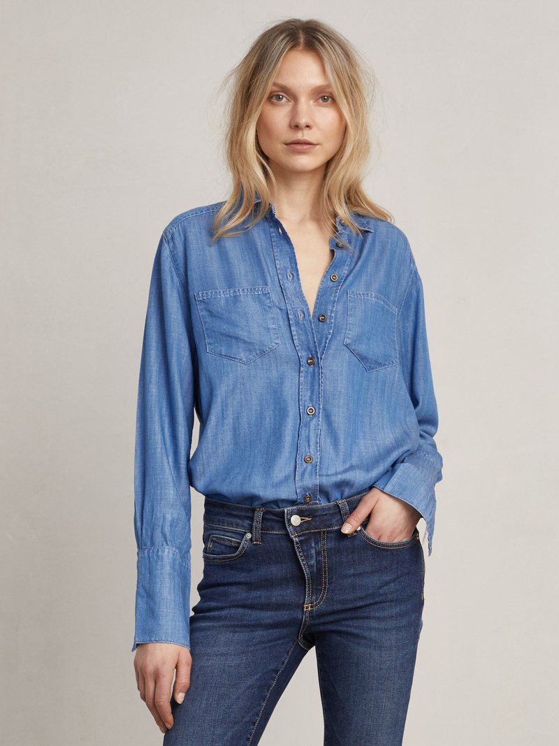 Nicolas Denim Shirt
