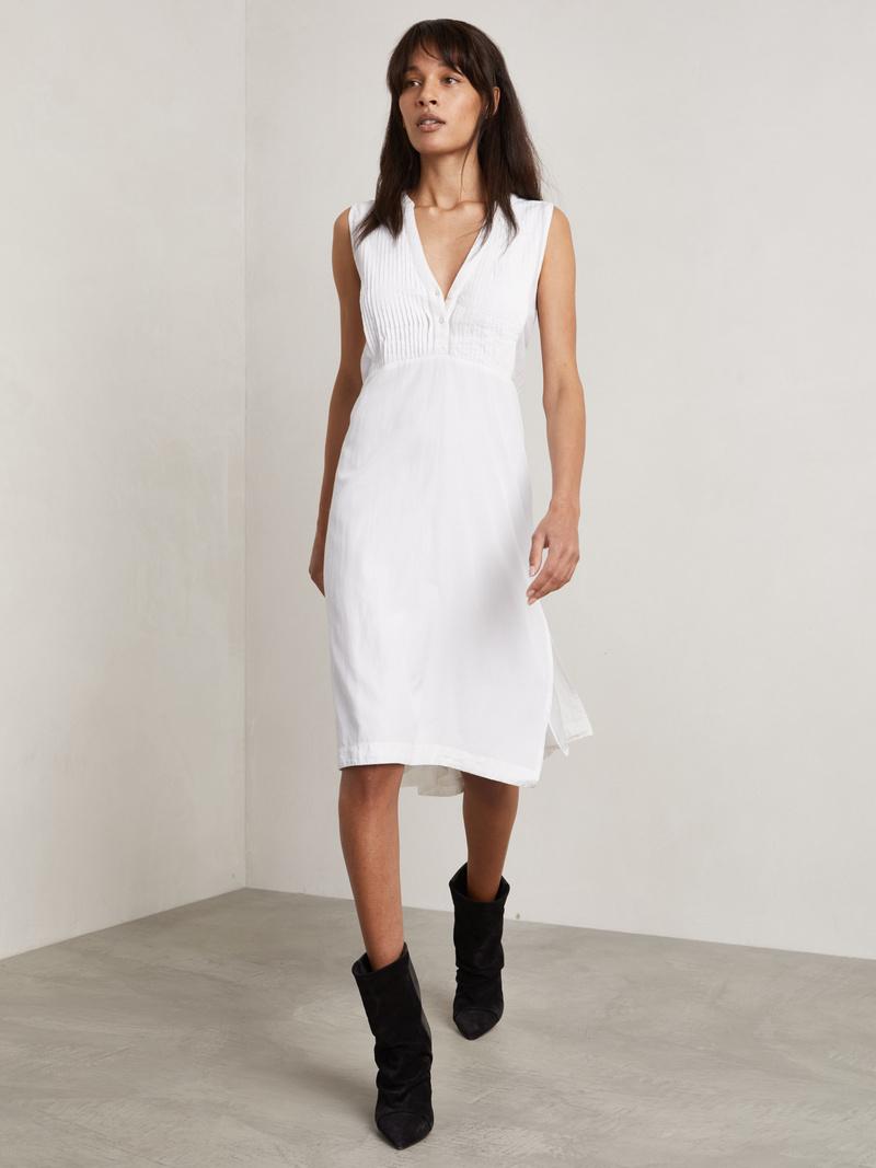 Sahara Pintucks Dress