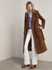Costello Suede Coat