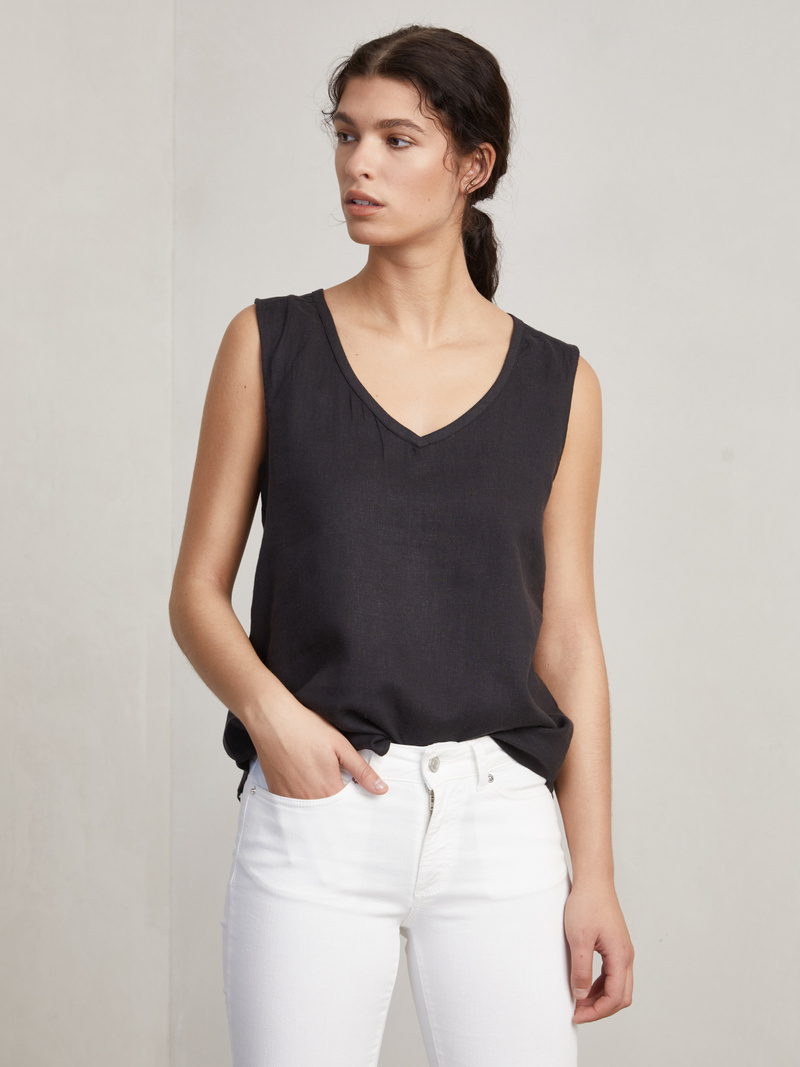 Anthony Linen Top