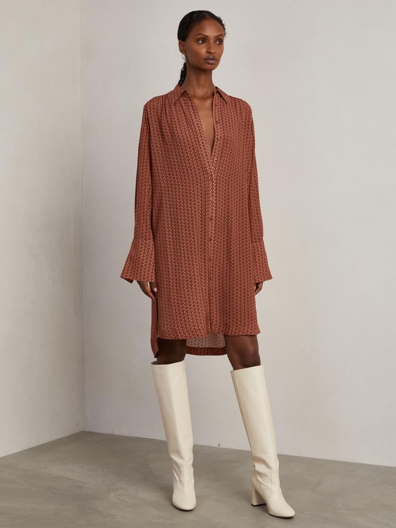 Lennon Shirt Dress