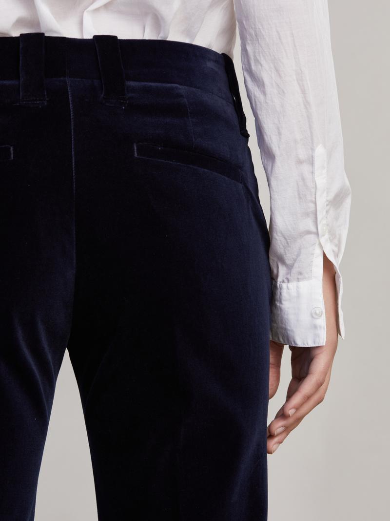 Janis Velvet Flared Pants