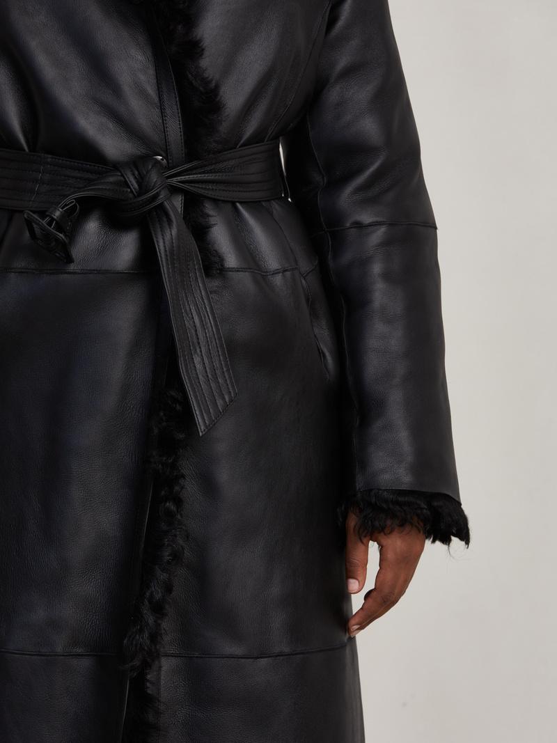 Harry Shearling Long Coat